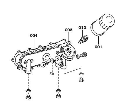 Page 026 Land Cruiser Diesel Oil Filters & Brackets