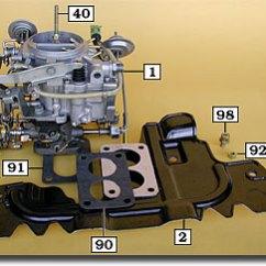 Carburetor Vacuum Line Diagram 3 Phase Kwh Meter Wiring Land Cruiser Carburetors, Parts, Kits & Gaskets