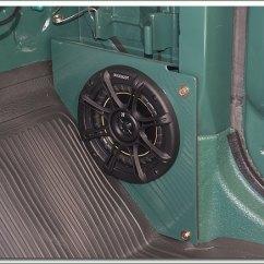 Toyota Fj40 Wiring Diagram Murray Lawn Mower Drive Belt And Fj55 Stock Radio Speakers Brackets