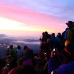 富士登山の所要時間【各ルート別】