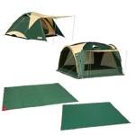 OKキャンプ場☆ゆったり広々!テント&タープセットご利用レポート