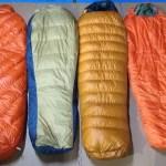 寝袋の保温性比較自己流実験してみた〔暖かいシュラフ選び〕