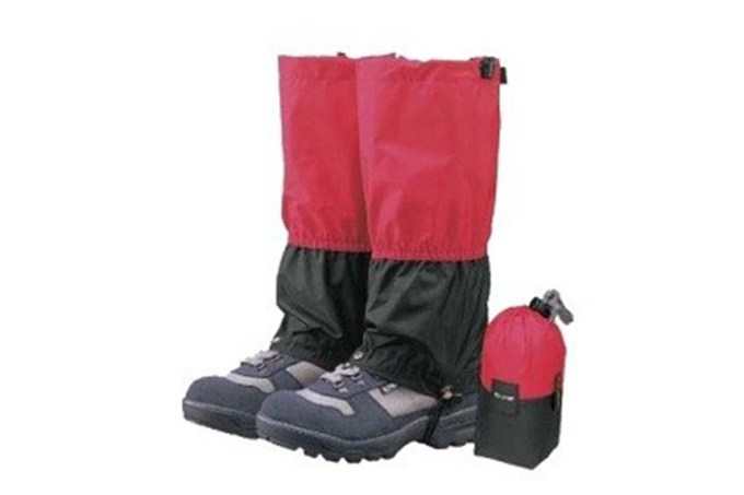 The gaiter(spats) for Mt.Fuji climbing