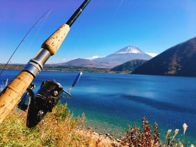 Fishing at Motosuko