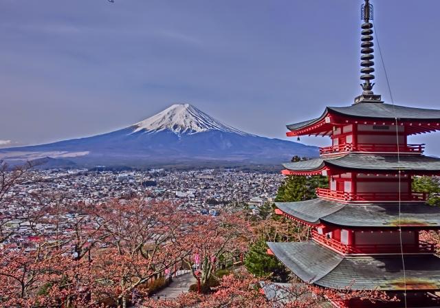 Chureito Pagoda – Excellent Mt.Fuji views