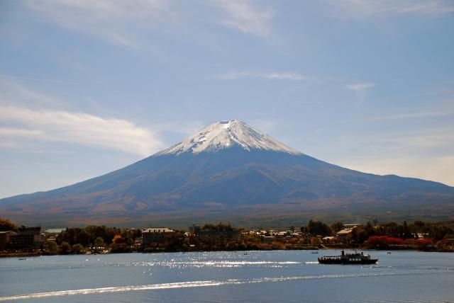 The best taking picture spots of Mt.Fuji around Kawaguchiko-lake.