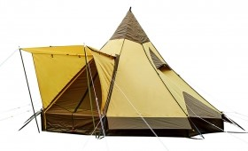 "What is ""One pole tent (Mono pole tent)""? 【The good points and bad points】"