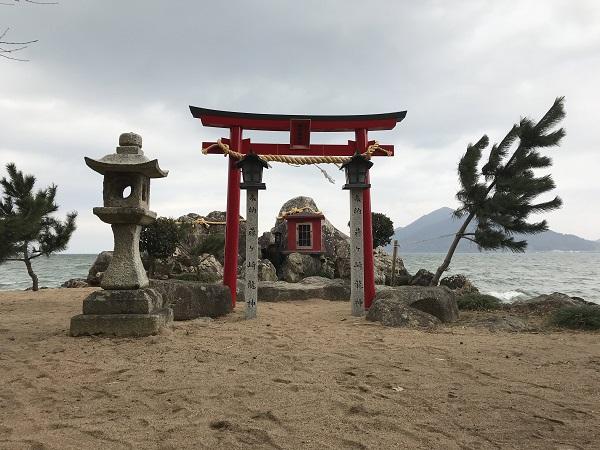 藤ヶ崎龍神鳥居の写真
