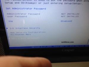 CASPER NIRVANA NB 15.6(C3A.3050-4L05E) windows 7