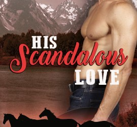 Erotic romance book cover_His Scandalous Love