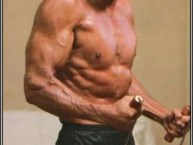 Sylvester Stallone - too fit