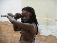 'The Walking Dead': Behind-The-Scenes With Michonne's Danai Gurira