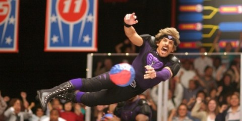 Ben Stiller is White Goodman in Dodgeball: A True Underdog Story.