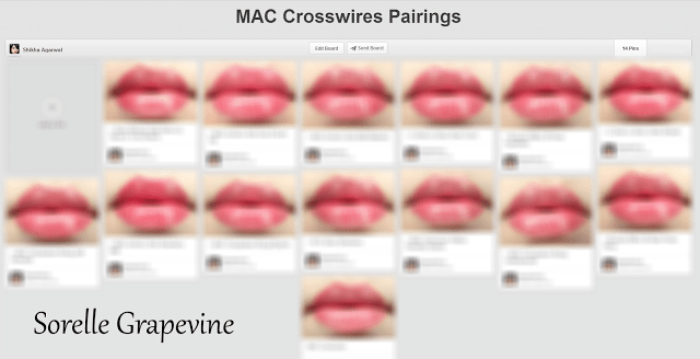 The Pairing Project - MAC Crosswires