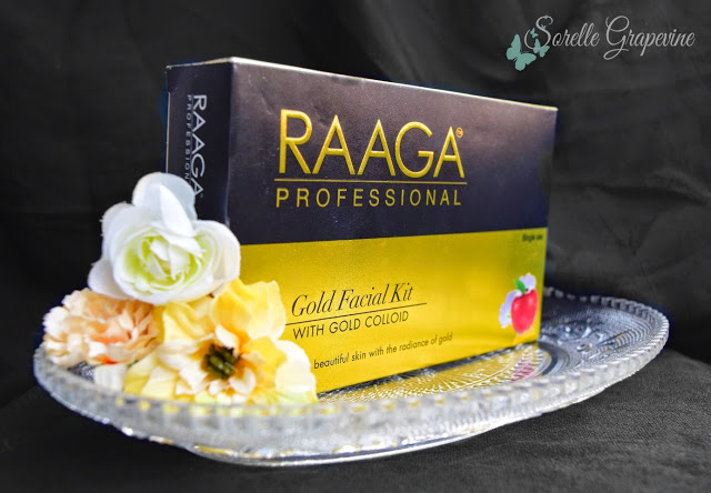 Raaga Professional Gold Facial Kit - Review