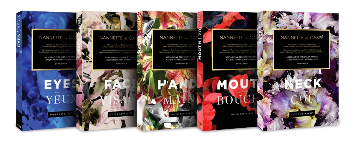 "Holler! Nannette de Gaspe ""Dry"" Face Mask Sheet"