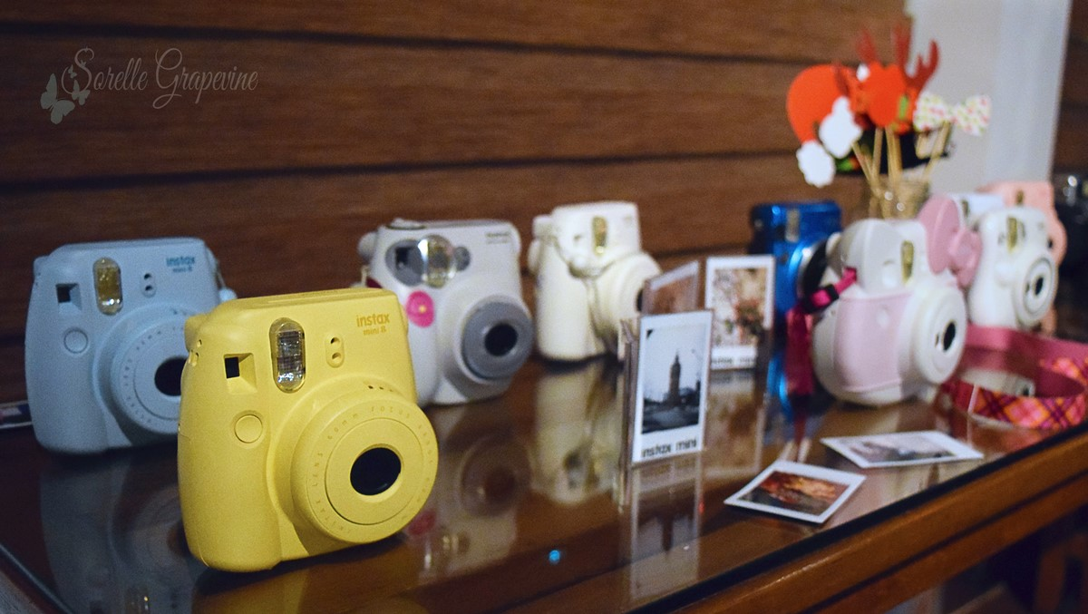 Getting #Instaxicated with Fujifilm