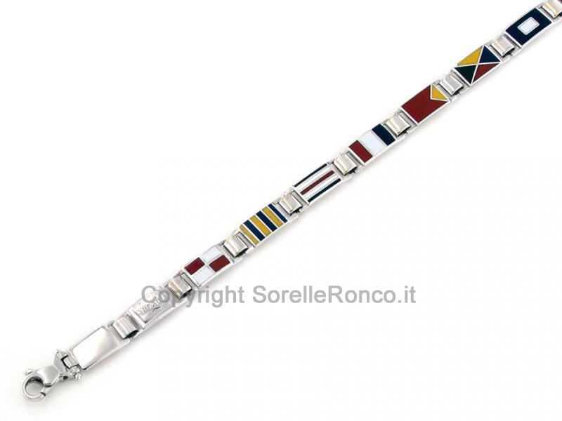 Bracciale Uomo Oro Bianco Cf01443