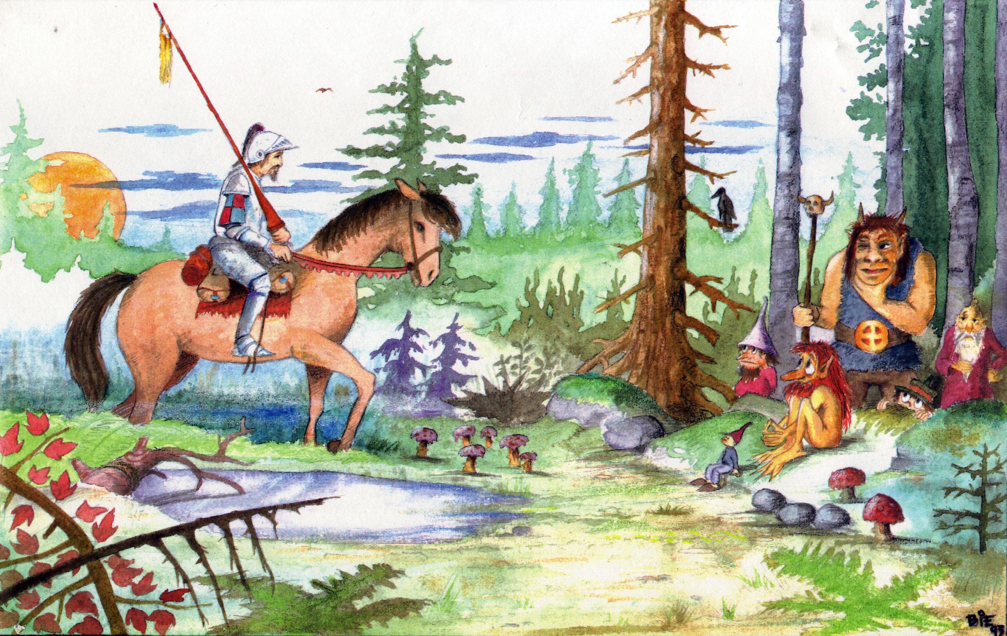 Søren Bie. Akvarel 1993