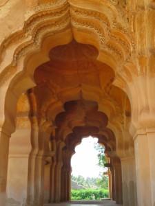 Lotus Mahal, in the zenana