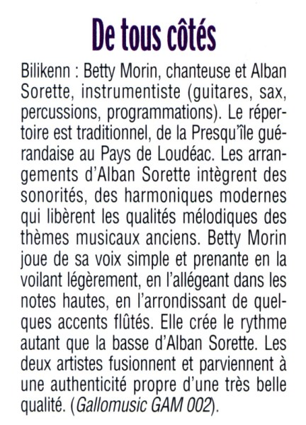 Armor magazine, De tous côtés, mai 2006