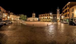Plaza Mayor de Almazán. Foto: Benjamín Moreno