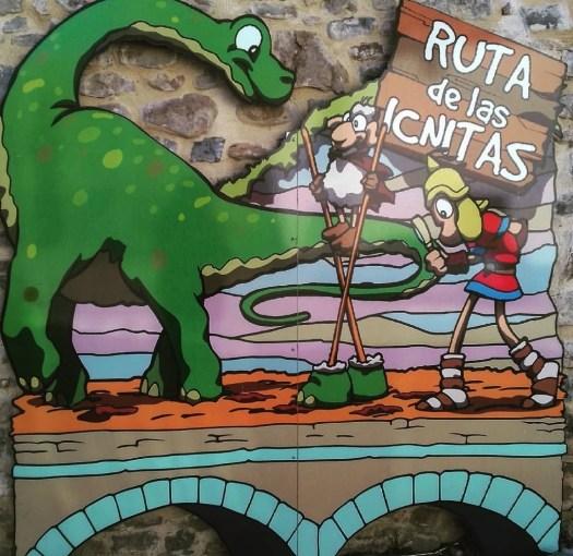 Mural Ruta de las Icnitas