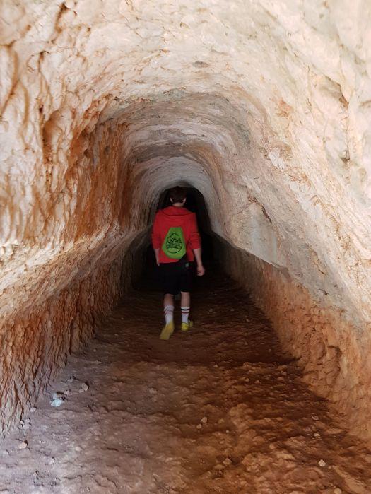 Acueducto romano, comunmente conocido como Cueva de la Zorra