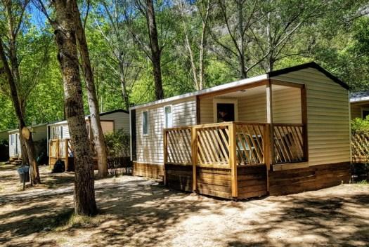 Camping Rio Lobos Bungalow Camping en soria