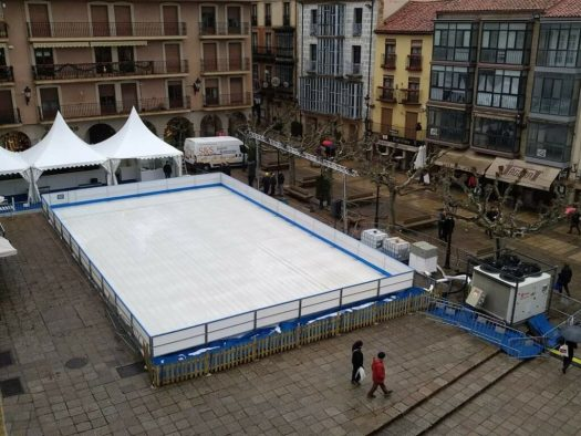 Pista de Patinaje en Plaza Mayor