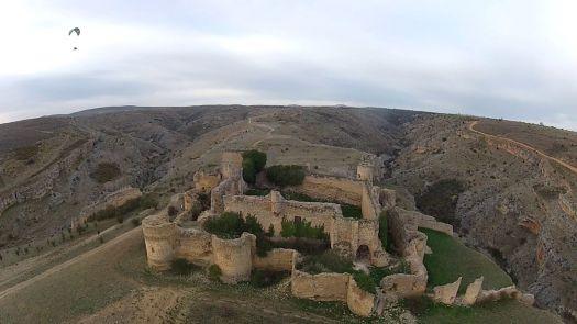 Caracena Castillo Parapente