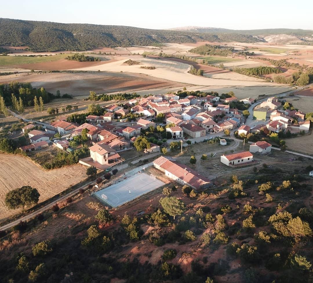 La Hinojosa Vista desde dron
