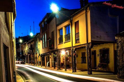 Por las calles de Langa de Duero de  Andres Gonzalez