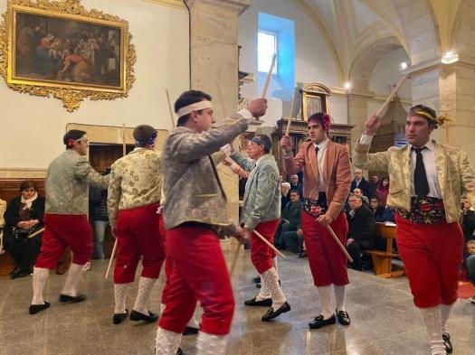 danzas del paloteo casarejos