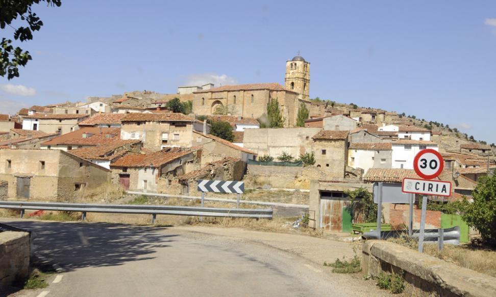 Ciria por V.Guisande del Heraldo de Soria