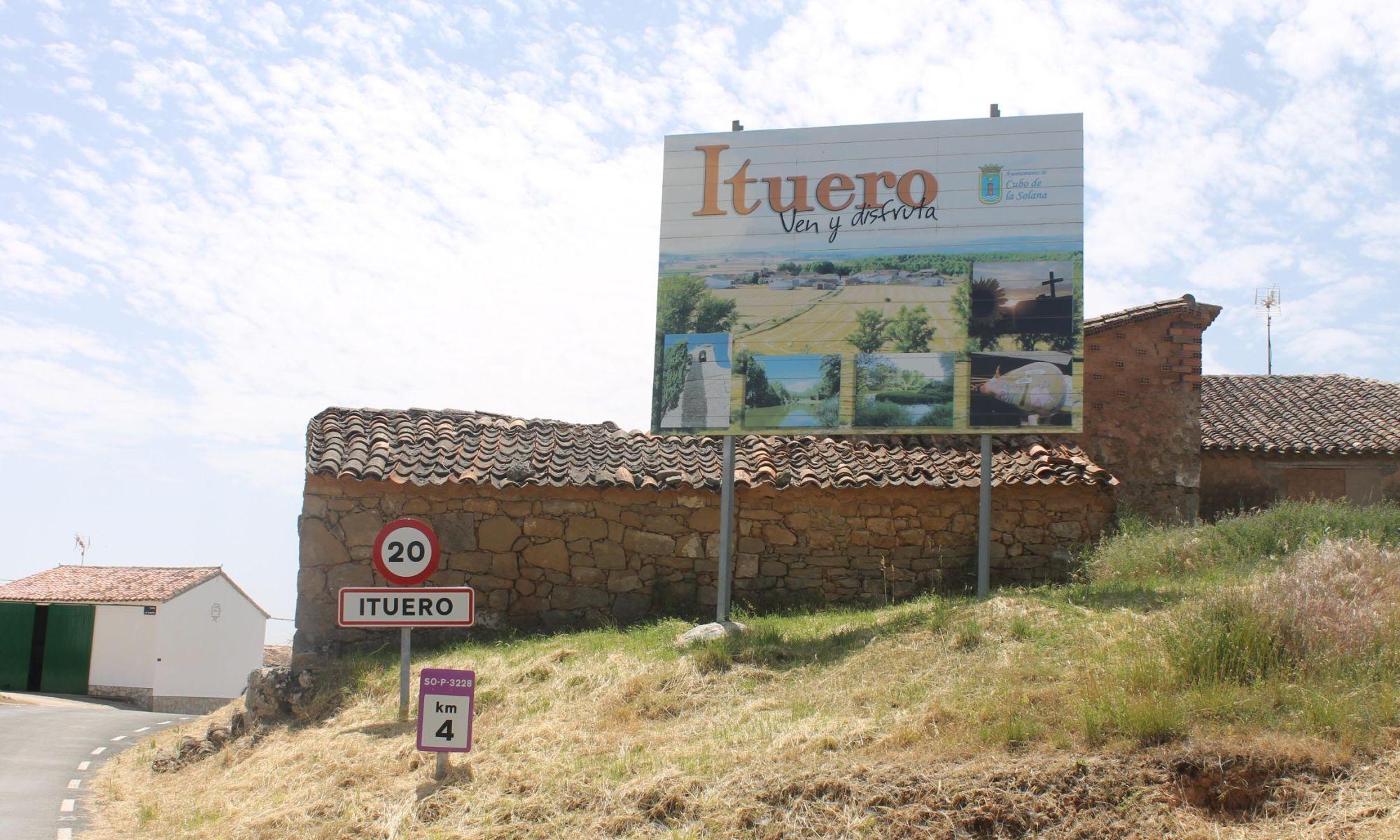 Entrada a Ituero