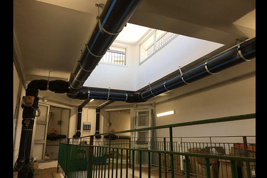 Disservizi a Reggio, in corso nuovi collegamenti idraulici al serbatoio Santa Caterina 19 2