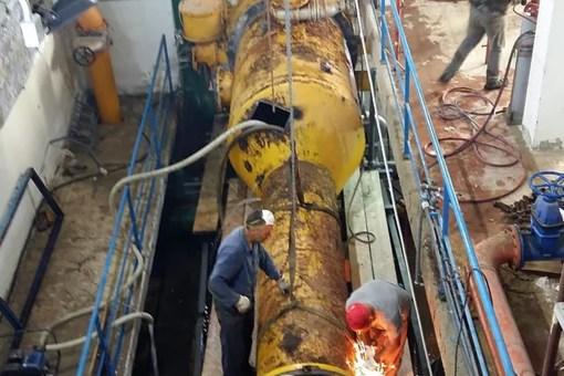 Crotone, lunedì stop impianto Neto per completamento lavori 21 510x340