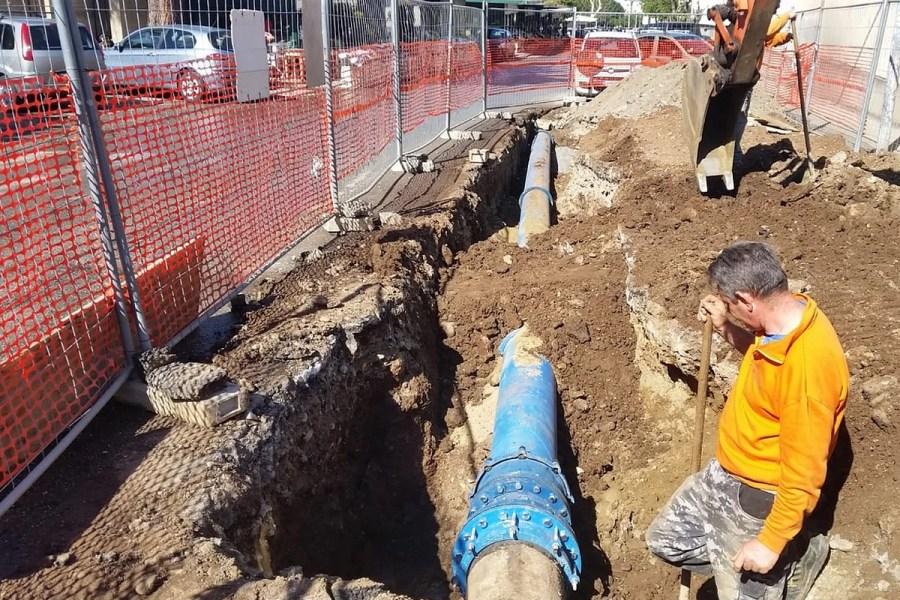 Collegato il serbatoio Trabocchetto, inizia erogazione acqua del Menta anche in centro a Reggio 25 1
