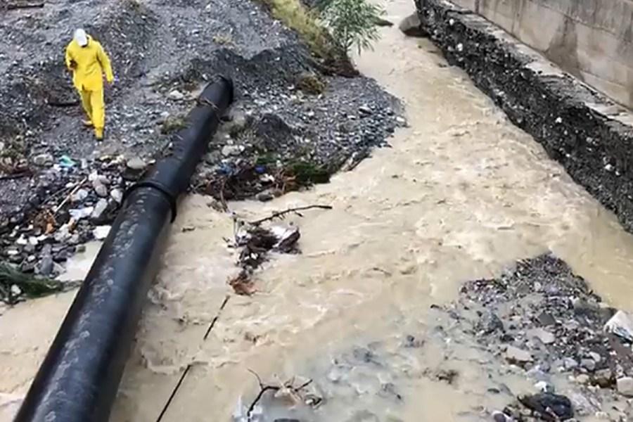 Esondato torrente Tuccio, divelta condotta Sorical 61
