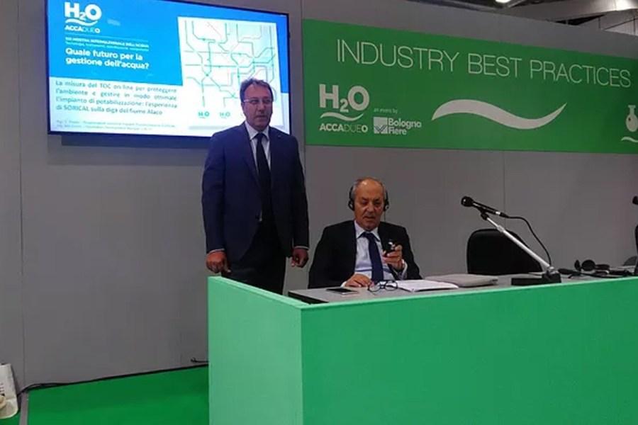 Sorical presenta a Bologna esperienza su impianto potabilizzazione Alaco 69