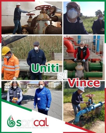 Assicuriamo acqua potabile e tuteliamo i lavoratori UNiti 408x510