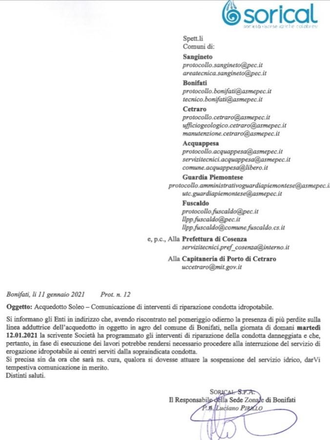 Acquedotto Soleo, interruzione per riparazioni perdite img 5955 676x900