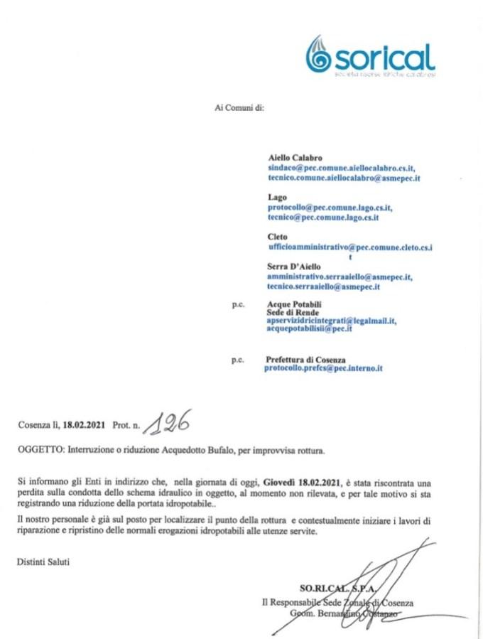 Interruzione acquedotto Bufalo img 6286