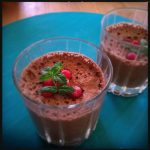 mousse de ciocolata aquafaba