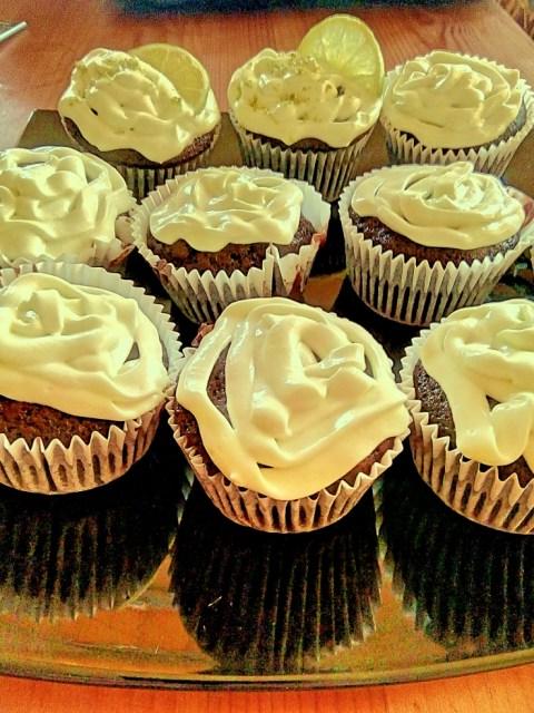 Cupcakes cu Guiness si crema de lime