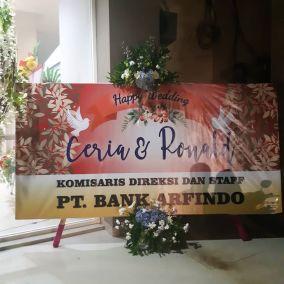 papan bunga sorong