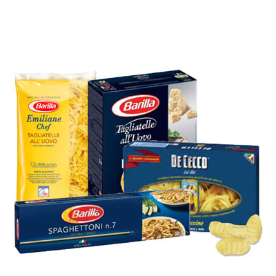 italian pasta and rice
