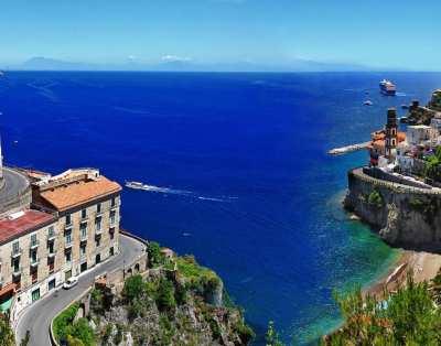 Amalfi Coast by boat from Sorrento Host 9