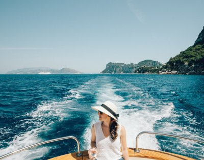 Capri by boat - Sorrento Host